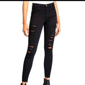 Frame Le Skinny black jeans size 29